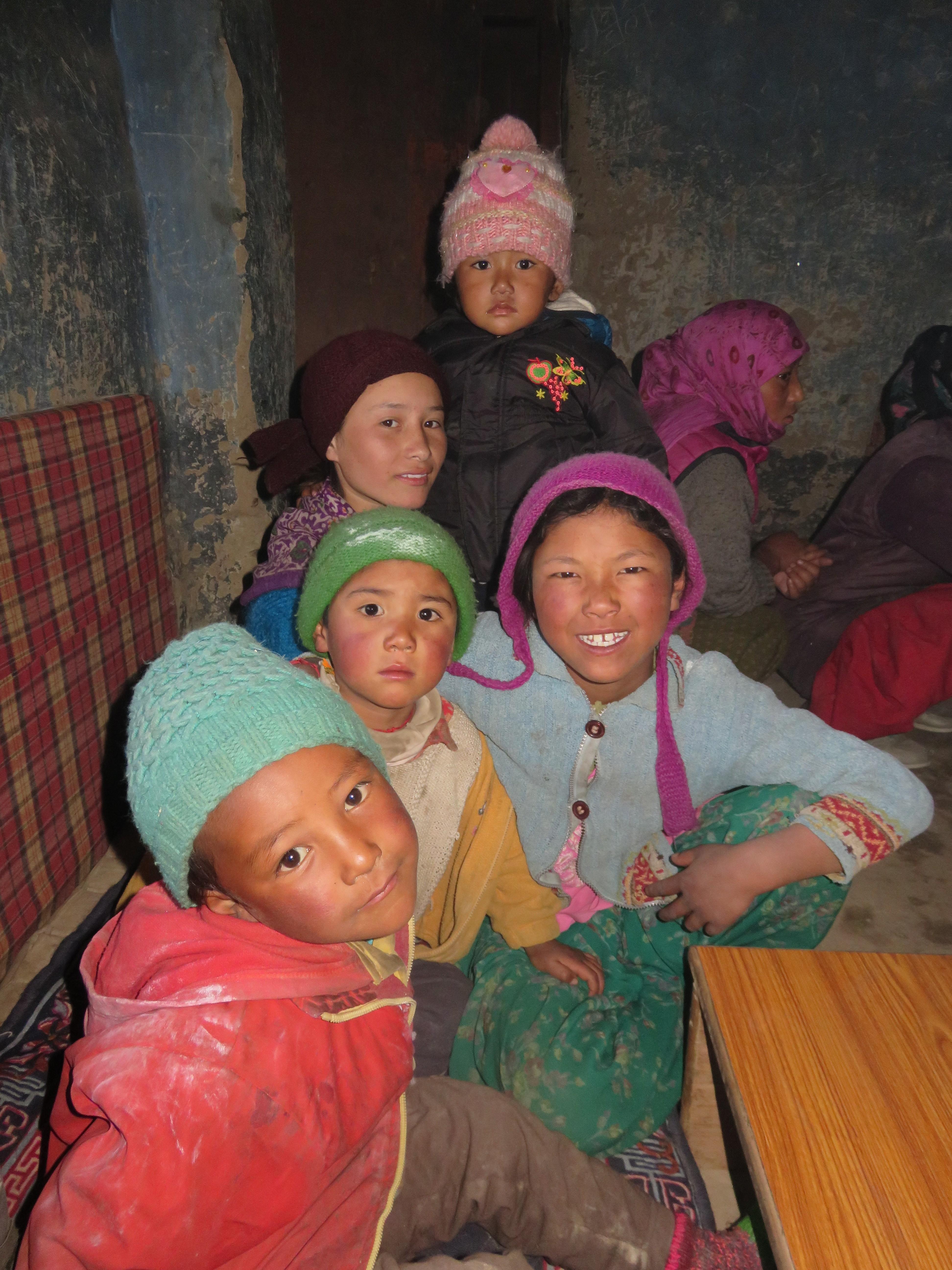 Zanskar children-2016-Chemins et découverte