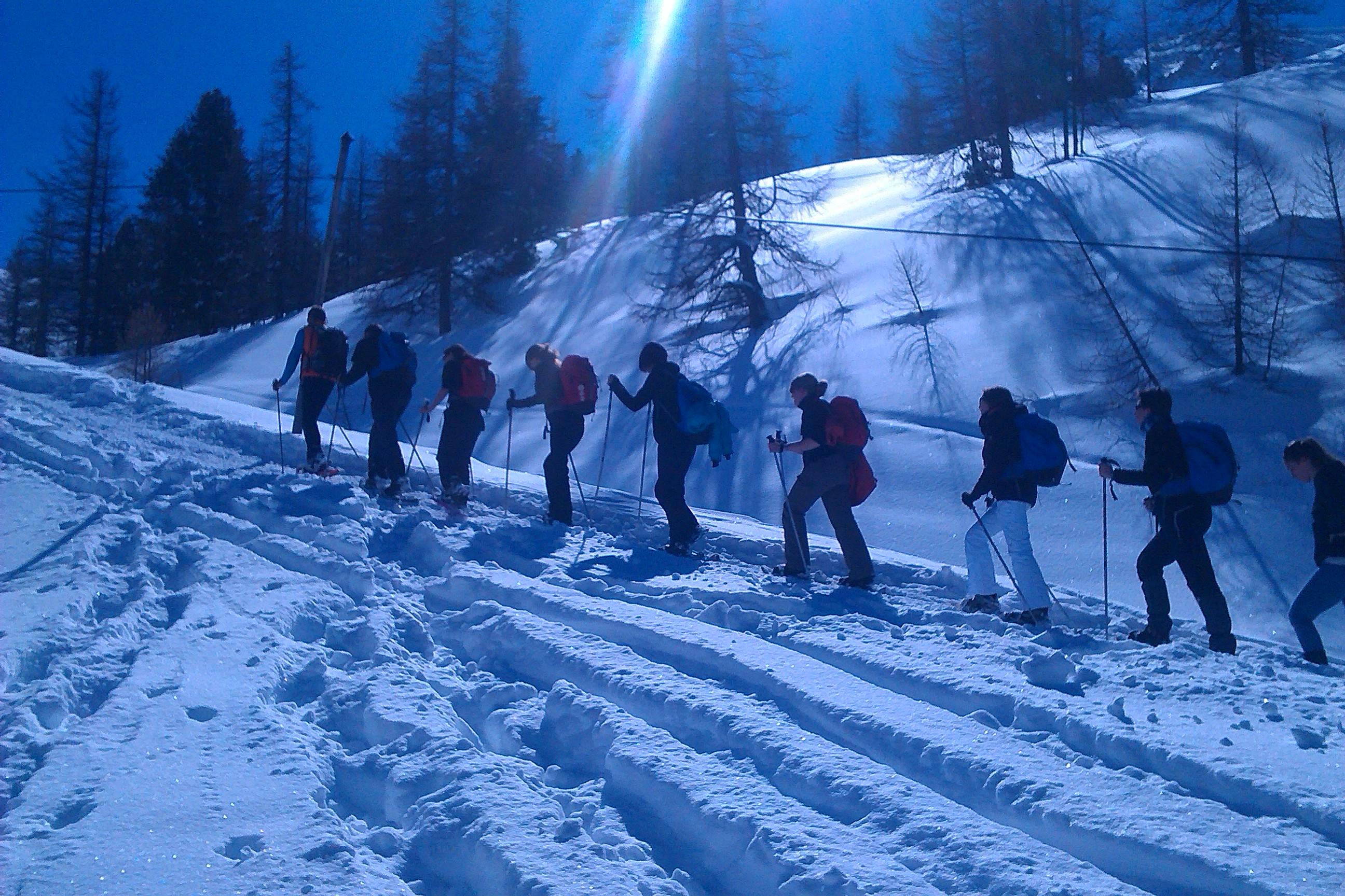 Randonnée hivernale 2 - Chemins et découverte