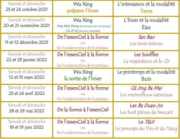 stages en ligne Qi Gong traditionnel - Chemins et Découverte - Jonathan Loyal